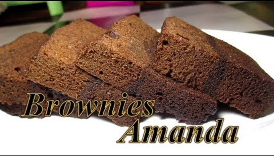 Resep Brownies Kukus Amanda, Sederhana Mudah & Lezat